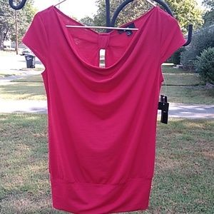 NWT BCX red top sz small